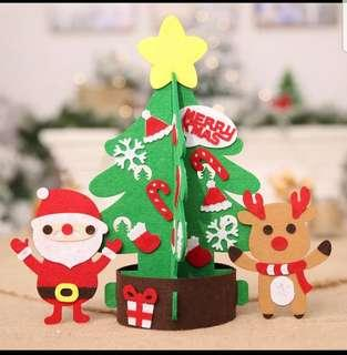 BN felt DIY christmas tree kids craft
