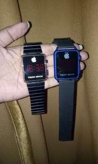 jam iphone touch yang warna biru nego