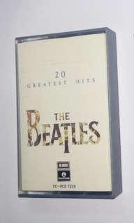 Cassete The Beatles  20 Greatest Hits