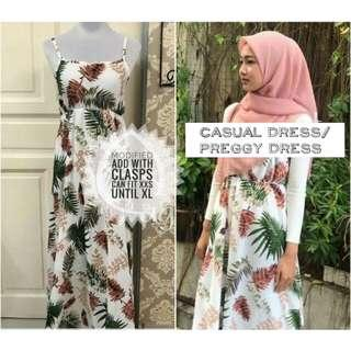 Long dress / preggy dress (modified special for XS)