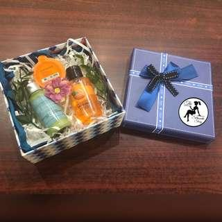 Orange Gift Box Set