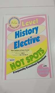 O Level History Elective Revision Guide