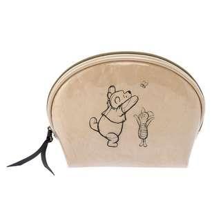 🌟日本Disney store直送🌟小熊維尼 Winnie the pooh & 小豬 Piglet 公仔 化妝袋 筆袋 收納包 pouch