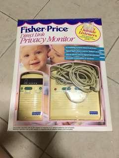Fisher Price Audio baby monitor