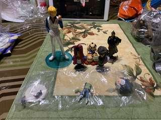 Various Anime Figures