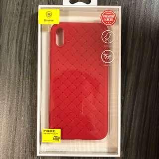 全新 Baseus iPhone X XS 手機套 殼 Case 紅色 Red