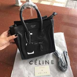 Celine nano luggage Black looklikeori