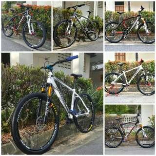 Specialise in designing and building reliable and stylish boutique design mountain bicycles personalising it to our customers preference