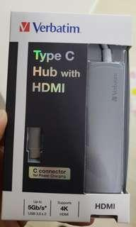 Type C Hub with HDMI