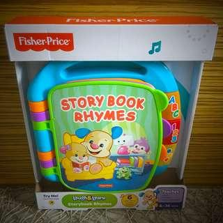 BN Brand New Fisher Price Story Book Laugh & Learn Storybook Rhymes