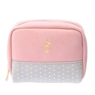 🌟日本Disney store直送🌟米妮 Minnie  公仔 麂皮 化妝袋 收納包 pouch