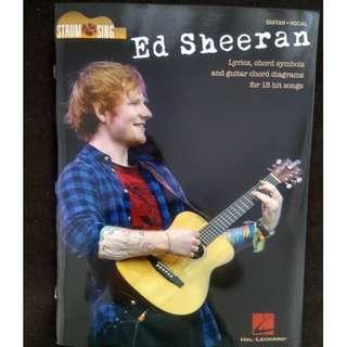 Ed Sheeran Guitar and Vocal Book