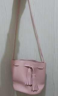 Sling bag Miniso (pink)