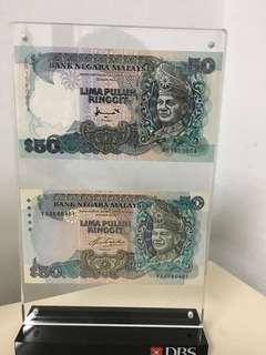 RM50 with different signature