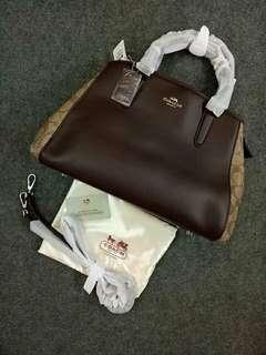 Authentic Quality Coach Bag with Sling