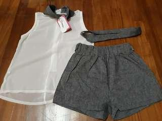 Brand New with Tag Girls 4-5yrs Set
