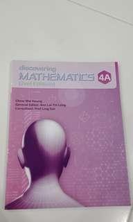 Discovering Mathematics 4A