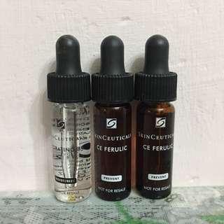 SkinCeuticals 一套3件 水合維他命B5精華 HYDRATING B5 濃縮維他命CE FERULIC精華 C E FERULIC