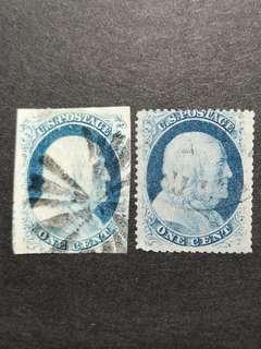 1851/53 USA STAMP