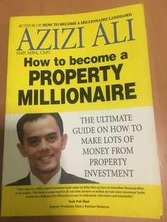 How to Become a Property Millionaire: The Ultimate Guide on how to Make Lots of Money from Property Investment Book by Azizi Ali