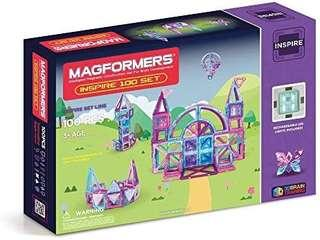 Magformers inspire set 100 pieces