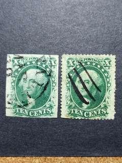 1863/67 USA STAMP