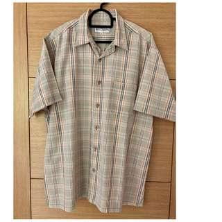East India Short Sleeve Checkered Shirt #MMAR18