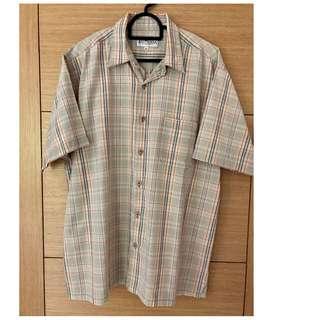 East India Short Sleeve Checkered Shirt #NEW99