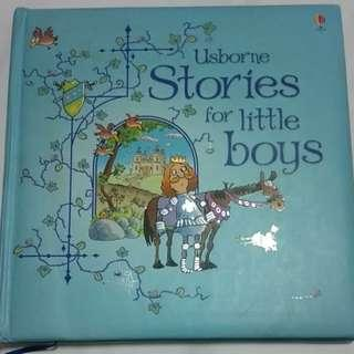 Usborne Stories For Little Boys (by Jenny Tyler) *Hard Cover*