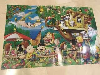 Peanuts Snoopy Charlie Brown Puzzle 1000pc
