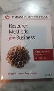 ⚫New Research Methods For Business(Sixth Edition)