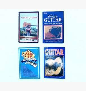 Bundle of 4 Guitar and Piano Beginner's books
