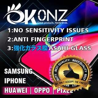 🚚 OKONZ tempered glass Screen Protector