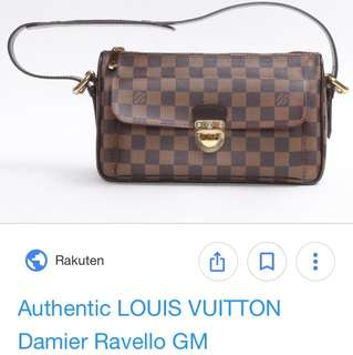 f272e2fd04 Louis Vuitton Damier Ebene Canvas Top Handle Bag