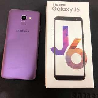 J6 2018 紫色