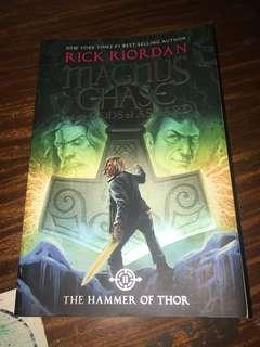 Magnus Chase: The Hammer of Thor by Rick Riordan