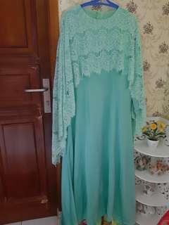 #yukjualan dress cape brukat baru sale