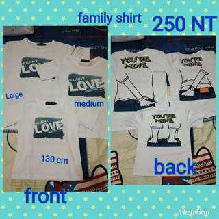 Family t- shirt