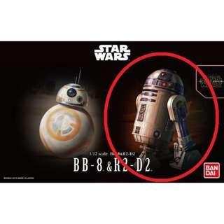 Bandai SW 1/12 R2-D2  starwars STAR WARS 單賣 全新