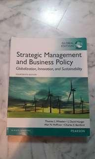 ⚫New Strategic Management And Business Policy (Fourteenth Edition)
