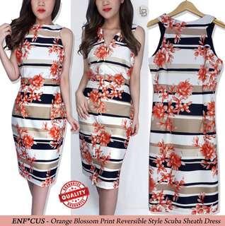 Dress Blossom Orange