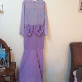 Peplum Modern Dress