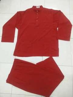 Baju Melayu ,paki 3kli,harga asal Rm360.
