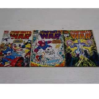 Marvel Infinity War #2 #3 #5 set of 3 NM/VF condition (1992)