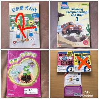 P3 Textbooks & Assessment Books