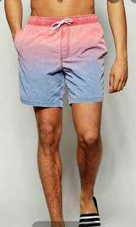 🚚 ASOS mens swim shorts size L