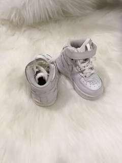 Nike Hightops White Unisex US 4C 12 months