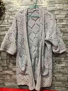 🚚 棉花糖女孩可穿毛衣外套🖤