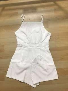 White jumpsuit new