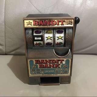 懷舊角子老虎機錢箱